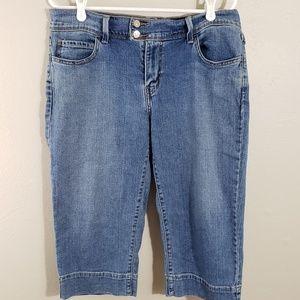 Levi's 515 Size 12 Crop Capri Jean